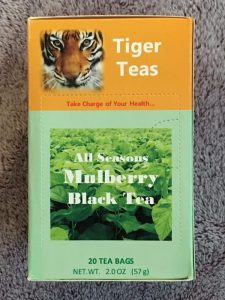 Mulberry Black Tea bags