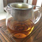 Mulberry Black Tea steeping
